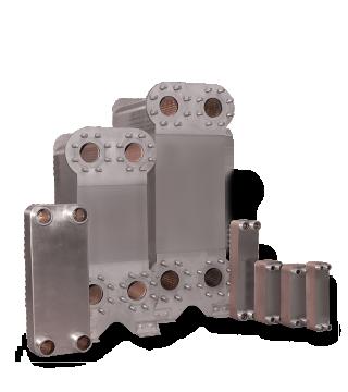 Gelötete Platten-Wärmetauscher - Produkte - Hauser Automatic AG